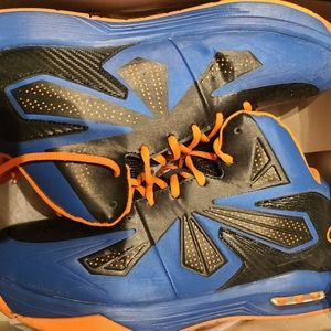Champion mens sneakers 11.5 new in box orange/blue